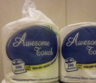 Toilet Paper Is Awesome